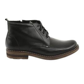 Moskała BR-1 bottes noires pour hommes