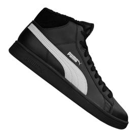 Puma Smash V2 Mid L Fur Jr 366895-05 chaussures noir