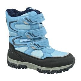 Bottes d'hiver Kappa Great Tex Jr 260558T-6467 bleu