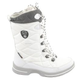 Bottes de neige à membrane American Club SN08 blanc