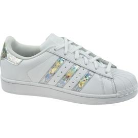 Chaussures Adidas Originals Superstar Jr F33889 blanc