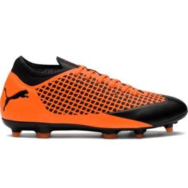 Chaussures de foot M Puma Future 2.4 Fg Ag 104839 02 orange noir, orange