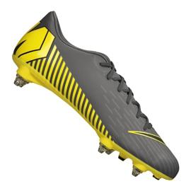 Chaussures de football Nike Mercurial Vapor 12 Academy Sg Pro Fg M AH7376-070 noir noir, jaune