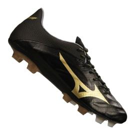 Chaussures de football Mizuno Rebula 2 V1 fabriquées au Japon Fg P1GA187-950 noir noir, or