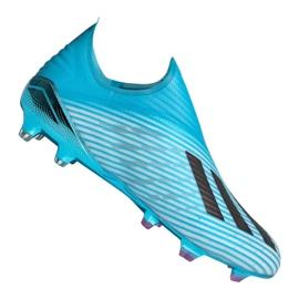 Chaussures de football Adidas X 19+ Fg F35323 bleu bleu
