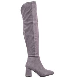 Seastar Bottes hautes élégantes gris