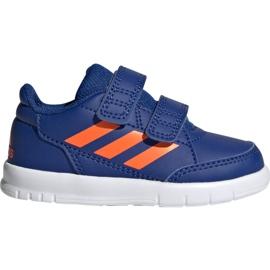 Chaussures Adidas AltaSport Cf I Jr G27108 bleu