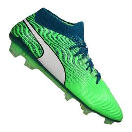 Puma One 18.1 Fg M 104869-03 chaussures de football vert vert