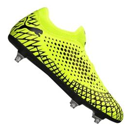 Puma Future 4.4 Sg Fg M 105687-02 chaussures de football jaune jaune