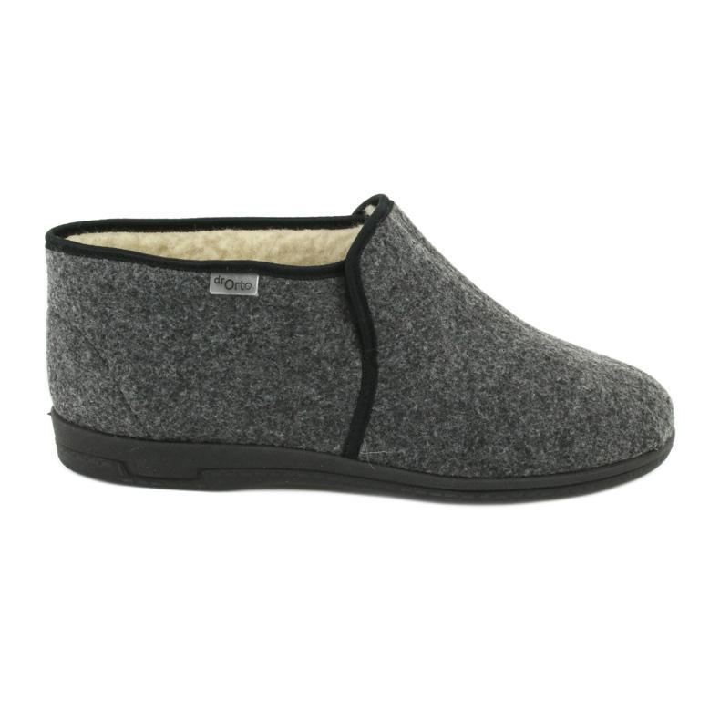 Chaussures Befado pour hommes 730M045 gris