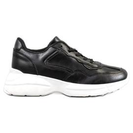 SHELOVET Baskets noires