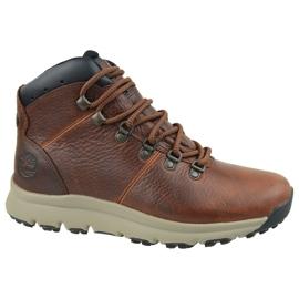 Chaussures Timberland World Hiker Mid M A213Q brun