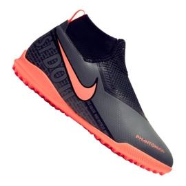 Nike Phantom Academy Df Tf Jr AO3292-080 chaussures de football noir