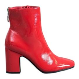 Seastar Bottines vernies rouge