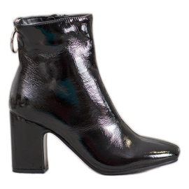 Seastar Bottines vernies noir
