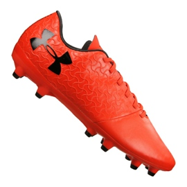 Chaussures de football Under Armour Magnetico Select Fg M 3000115-600 rouge