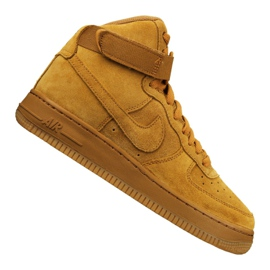 Chaussures Nike Jr Air Force 1 Haute Niv. 8 Gs Jr 807617-701 jaune