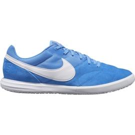 Chaussures de football Nike Premier Ii Sala Ic M AV3153 414 blanc, bleu bleu