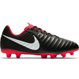 Chaussure de football Nike Tiempo Legend 7 Club Mg Jr AO2300 006 noir