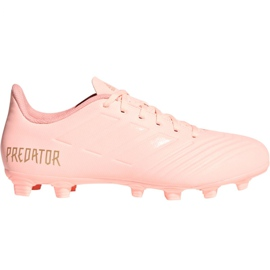 Adidas Predator 18.4 M FxG DB2008 chaussures de football rose rose