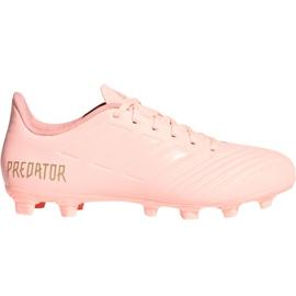 Adidas Predator 18.4 M FxG DB2008 chaussures de football rose rose
