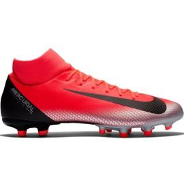 Chaussure de football Nike Mercurial Superfly 6 Academy CR7 Mg M AJ3541 600 noir, orange rouge