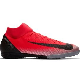 Chaussures de football Nike Mercurial Superfly X 6 Academy CR7 Ic M AJ3567 600 noir, orange rouge
