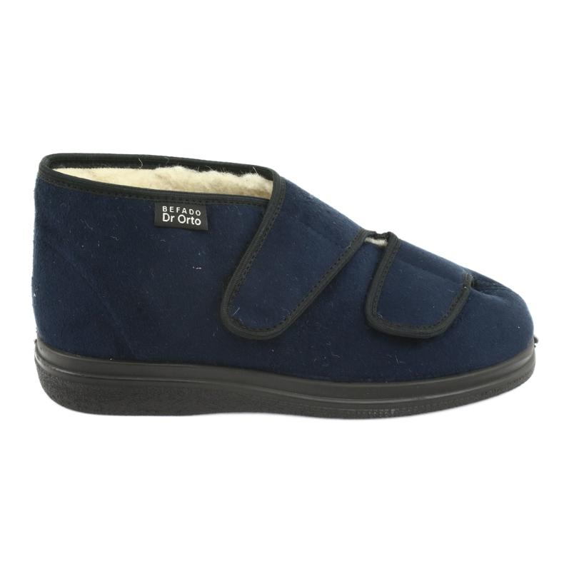 Chaussures femme Befado pu 986D010 bleu marin