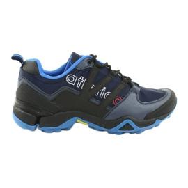 Atletico 8003 chaussures de sport noir marine