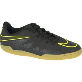 Chaussures d'intérieur Nike Hypervenomx Phelon Ii Ic Jr 749920-009 noir noir