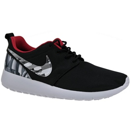 Nike Roshe One Print Gs W chaussures 677782-012 noir