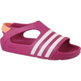 Adidas Adilette Play I Jr B25030 sandales rose