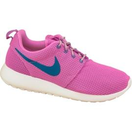 Nike Rosherun W 511882-502 chaussures rose