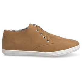 Baskets 3232 Camel à la mode brun