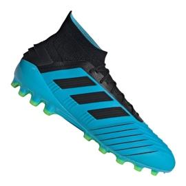 Adidas Predator 19.1 Ag M F99970 chaussures de football bleu