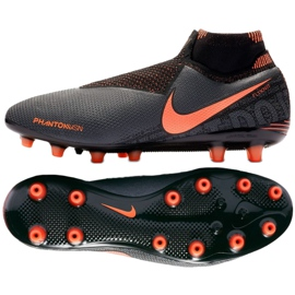 Nike Phantom Vsn Elite Df Ag Pro M AO3261-080 chaussures de football noir
