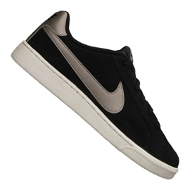Chaussures Nike Court Royale Suede M 819802-005 noir