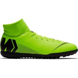 Chaussures de football Nike Mercurial Superfly 6 Club Tf M AH7372 701 noir, vert vert