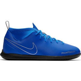 Chaussures de football Nike Phantom Vsn Club Df Ic Jr AO3293 400 bleu