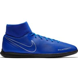 Nike Phantom Vsn Club Df Ic M AO3271 400 chaussures de football bleu