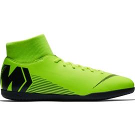 Chaussures de football Nike Mercurial Superfly X 6 Club Ic M AH7371 701 noir, vert