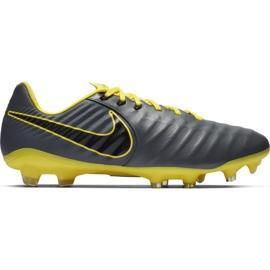 Chaussure de football Nike Tiempo Legend 7 Pro Fg M AH7241 070 noir, jaune