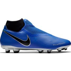Chaussures de football Nike Phantom Academy DF FG / MG M AO3258 400 noir, bleu