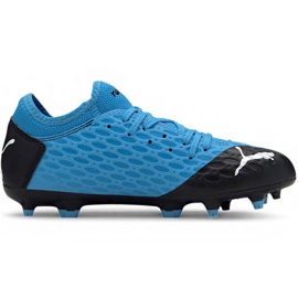 Puma Future 5.4 Fg Ag Jr 105810 01 chaussures de football bleu