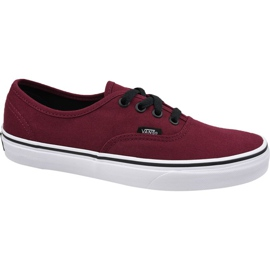 Chaussures Vans Authentic W VQER5U8 rouge