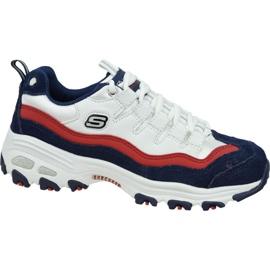 Chaussures Skechers D'Lites W 13141-WNVR blanc