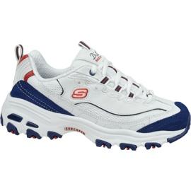 Chaussures Skechers D'Lites W 13148-WNVR blanc