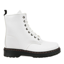 Bottes isolées blanches DJH01-1