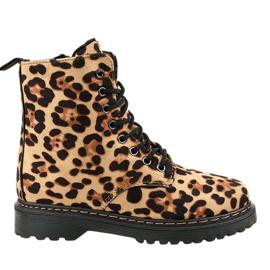 Bottes isolées léopard DJH01-18