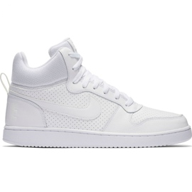 Chaussures Nike Court Borough Mid M 838938 111 blanc